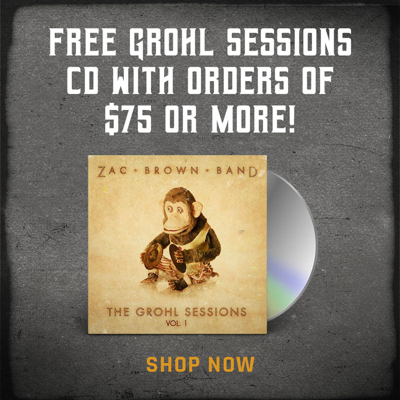 Free Grohl Sessions CD with orders over $75