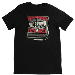 2018 Matchbox Tour Tee by Zac Brown Band