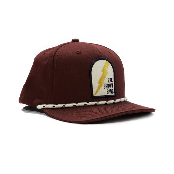 Wine Lightenin' Flat Bill Hat by Zac Brown Band