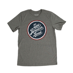 Zac Brown Band: Down the Rabbit Hole 2018 Grey Bomber Tour Tee by Zac Brown Band