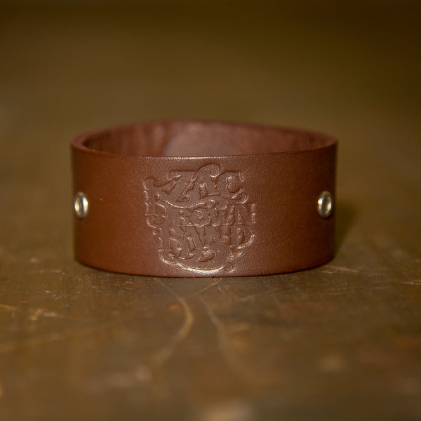 Leather Cuff - Embossed