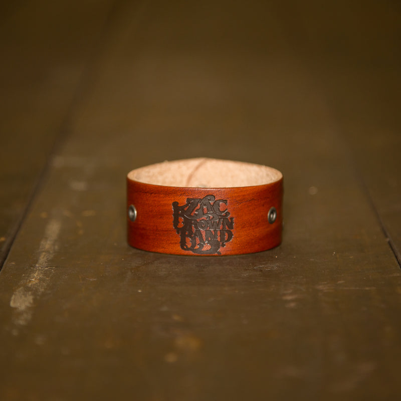 Leather Cuff - Painted