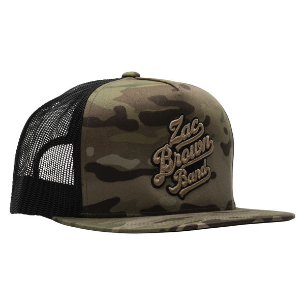 Logo Hat - Natural Camo