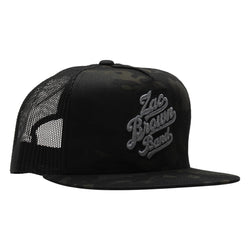 Logo Hat - Black Camo
