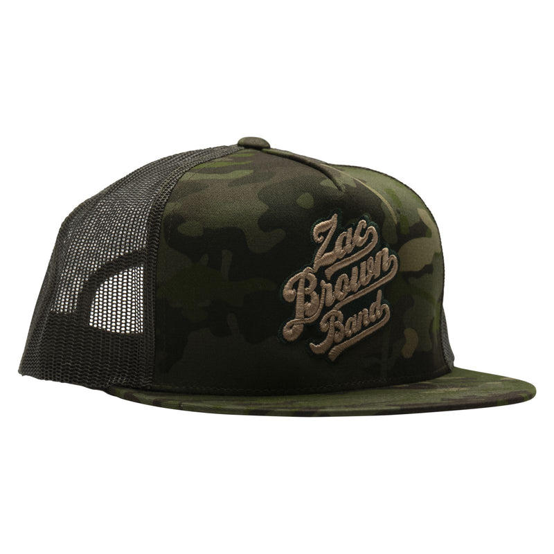 Logo Hat - Green Camo