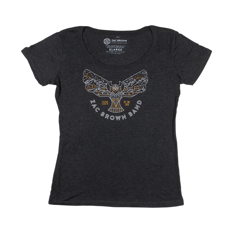 2020 The Owl Tour Women's T-Shirt - Owl