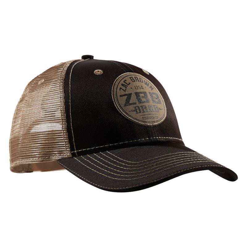 Brown/Tan RT Hat