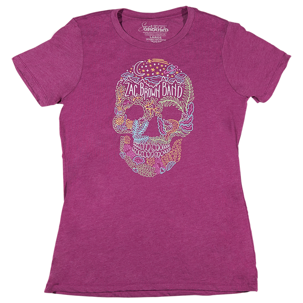 2017 Welcome Home Tour Women's T-Shirt - Skull