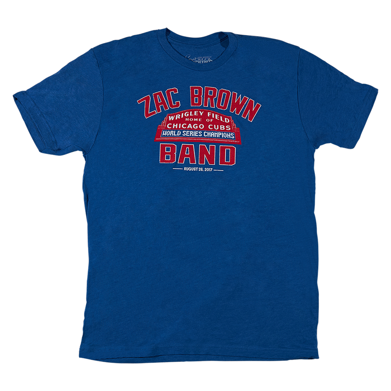 2017 Wrigley Field Baseball T-Shirt