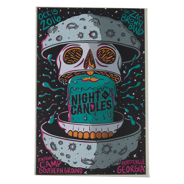 2016 Tour Print - Night Of Candles