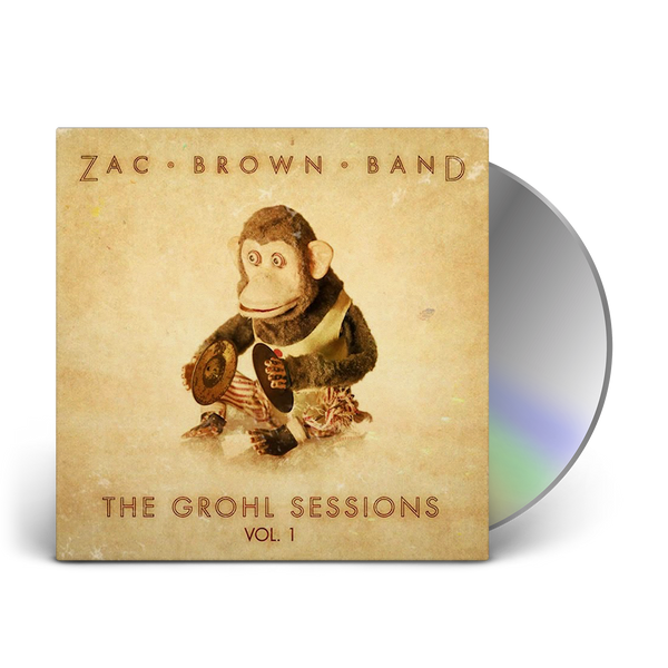 The Grohl Sessions Vol 1 Cd Zac Brown Band