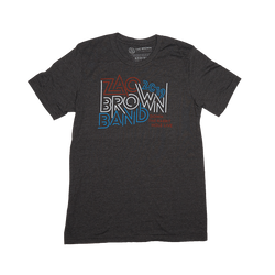 Zac Brown Band: Spring 2019 USA Maze Heather Gray Tee