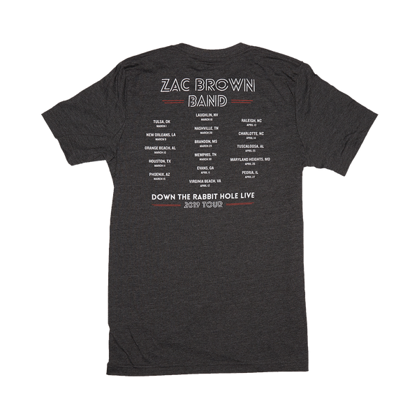 Zac Brown Band: Down the Rabbit Hole 2019 USA Maze Tee