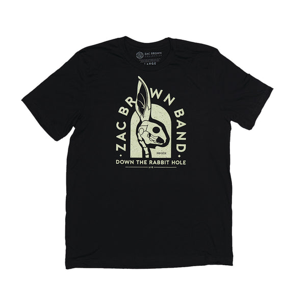 Down the Rabbit Hole: Live 2019 Rabbit Tour Tee by Zac Brown Band