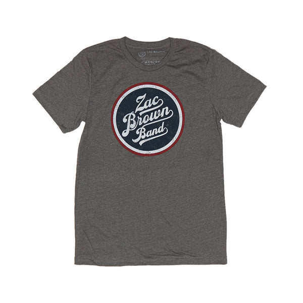 Zac Brown Band Spring 2019 Grey Bomber Tee