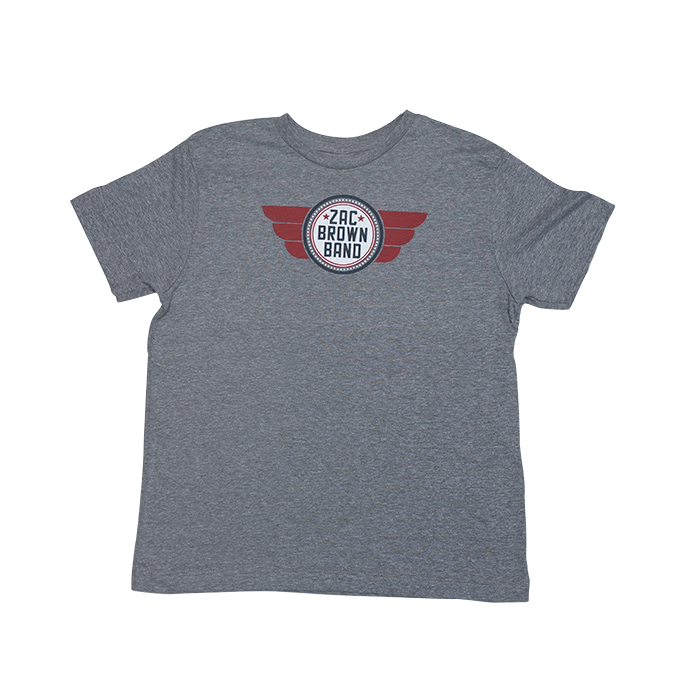 Kids' Gray Flight Tee
