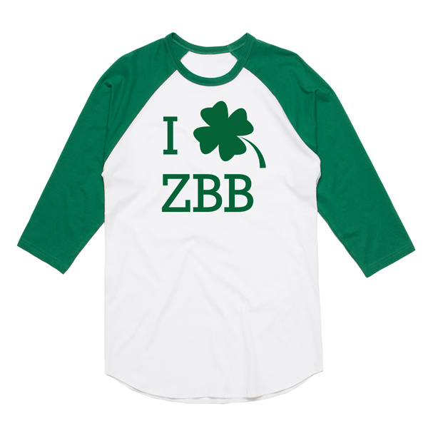 Zac Brown Band: Sham-rock Raglan by Zac Brown Band