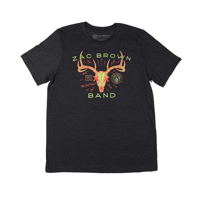 The Owl Tour Antler Tee