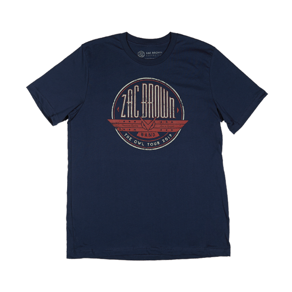 The Owl Tour 2019 Vintage Emblem Tee