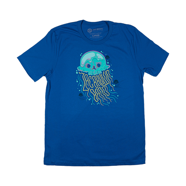 2019 The Owl Tour T-Shirt - Jellyfish