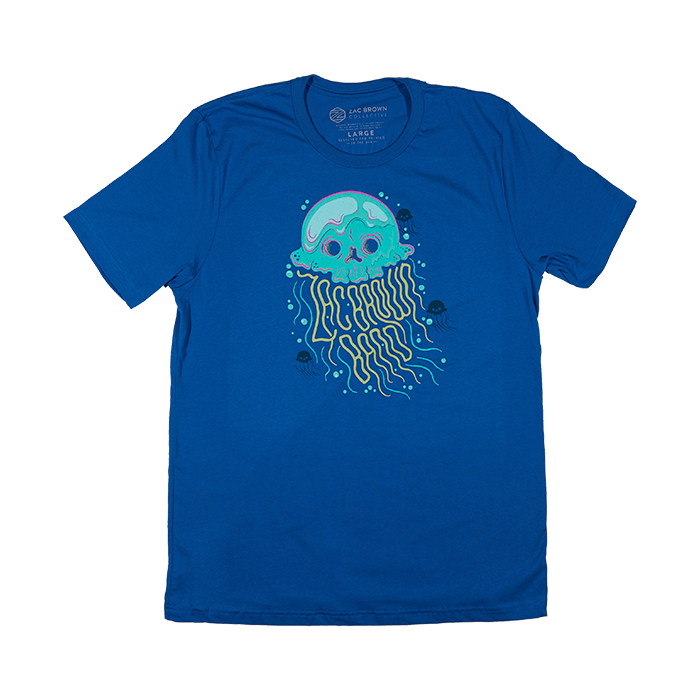 The Owl Tour Jellyfish Tee