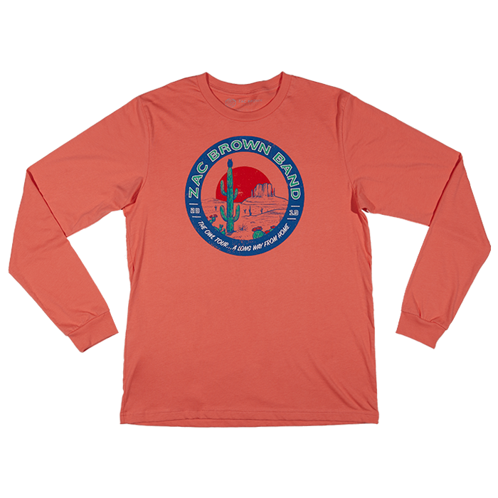 2019 The Owl Tour Long Way Long Sleeve Tee