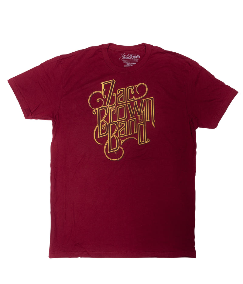 "Red ""Welcome Home"" Tee  by Zac Brown Band"