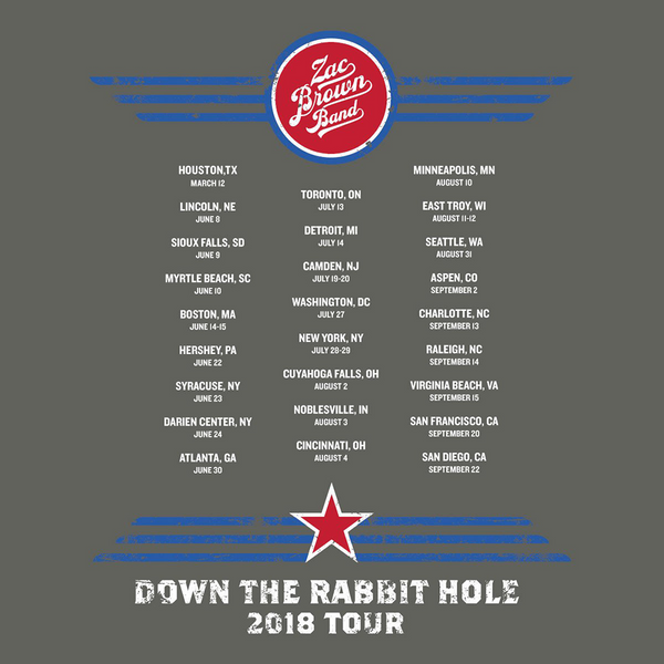 2018 Down The Rabbit Hole T-Shirt - Bomber
