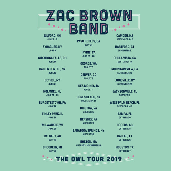 The Owl Tour 2019 Women's Butterfly Tee