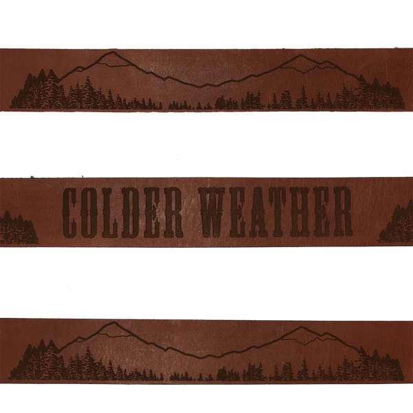 Colder Weather Leather Belt