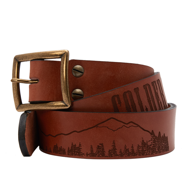 """Colder Weather"" Sheehan & Co. Leather Belt by Sheehan & Co. & Zac Brown Band"