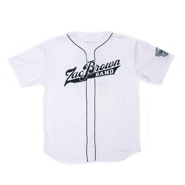 2018 ZBB Tour Jersey- White/Navy