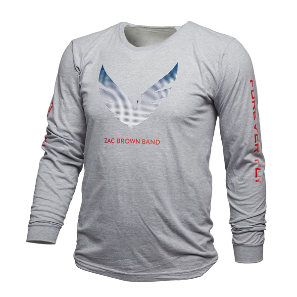 "ZBB ""Freedom Forever Fly"" Long Sleeve Tee"