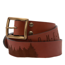 """Home Grown"" Sheehan & Co. Leather Belt by Sheehan & Co. and Zac Brown Band"