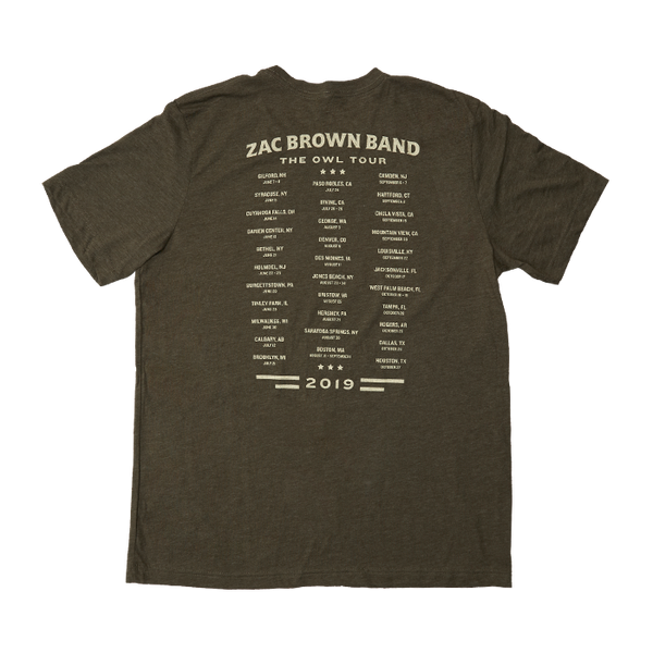 2019 The Owl Tour T-Shirt - Freedom