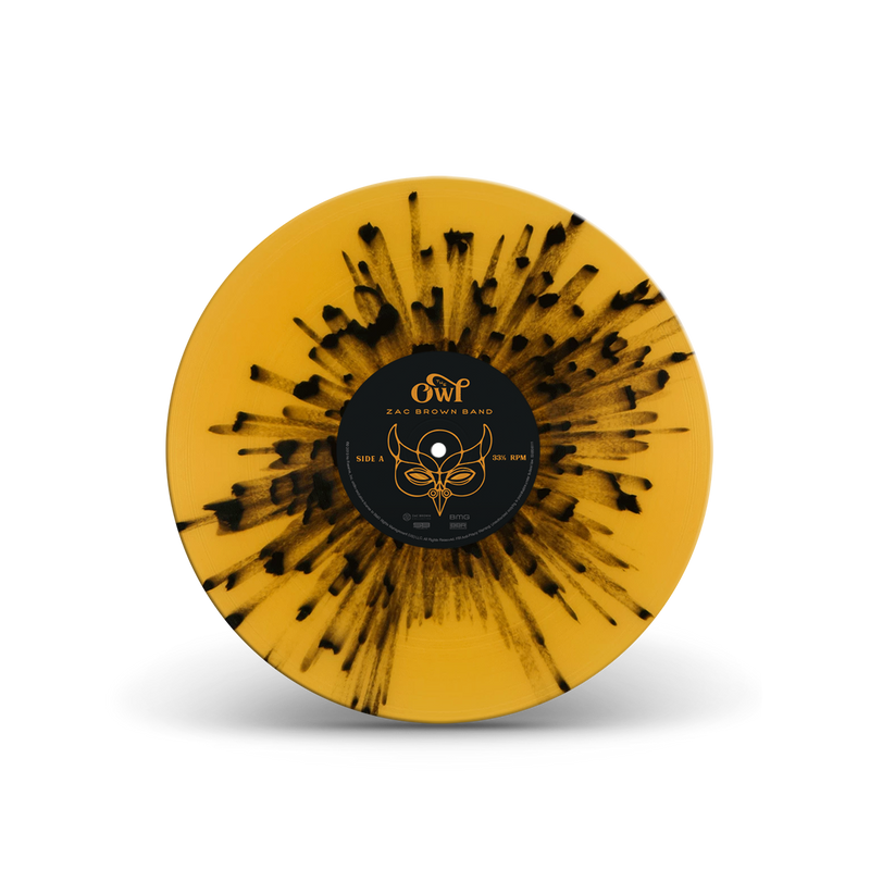 The Owl - Deluxe Splatter Vinyl
