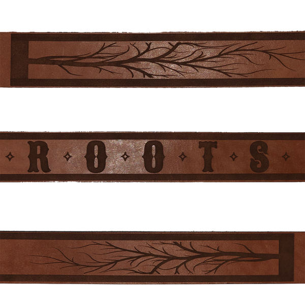 """Roots"" Sheehan & Co. Leather Belt"