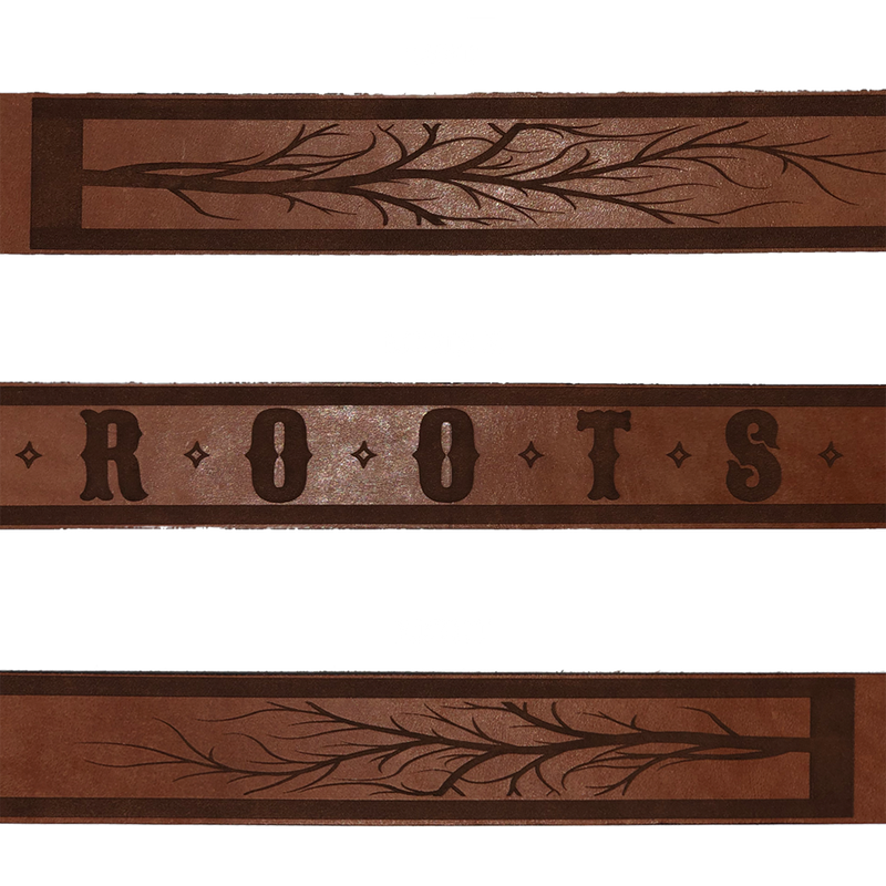 Roots Leather Belt