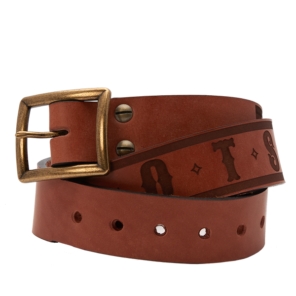 """Roots"" Sheehan & Co. Leather Belt by Sheehan & Co. and Zac Brown Band"