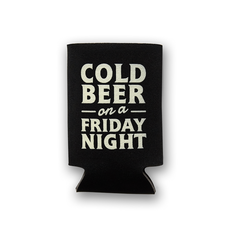 Cold Beer on a Friday Night Koozie