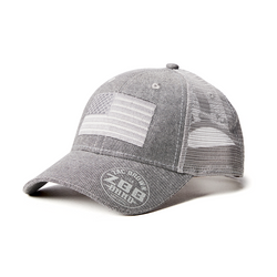 Gray Flag Hat