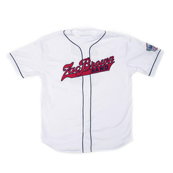 2018 Baseball Jersey - White & Red