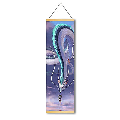 Dragon Master Canvas Hanging Scroll - Gleamworks