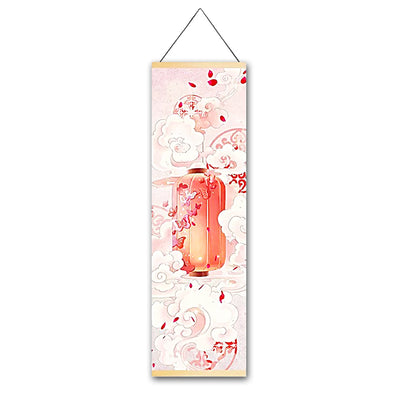 Lucid Butterfly Hanging Scroll - Gleamworks