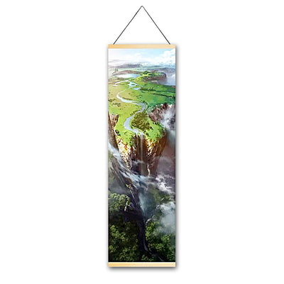Edge Canvas Hanging Scroll - Gleamworks