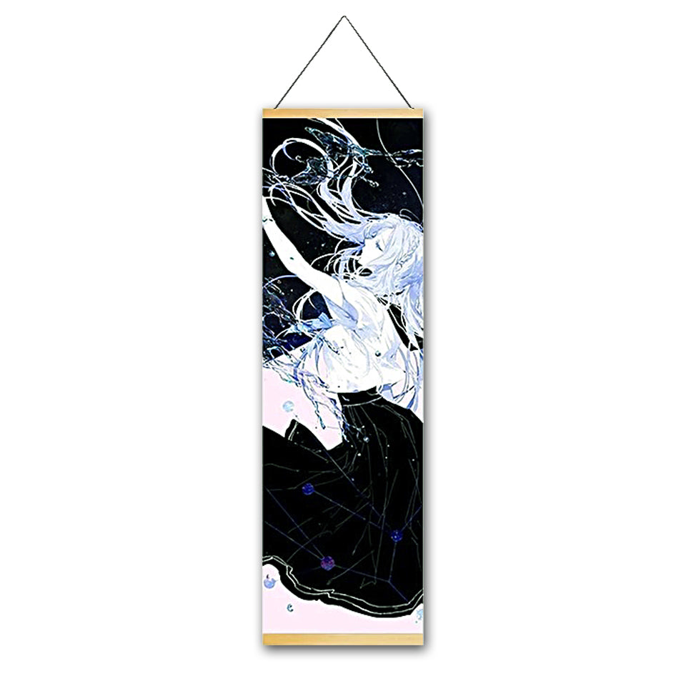Vivid Dream Canvas Hanging Scroll