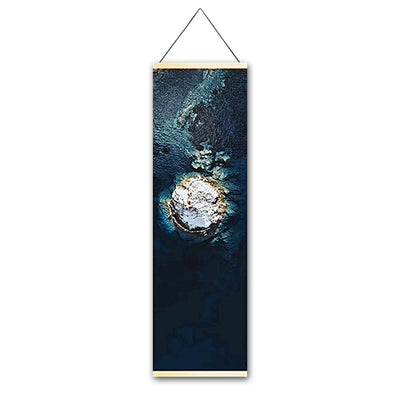 Clear Waters Hanging Scroll Canvas - Gleamworks