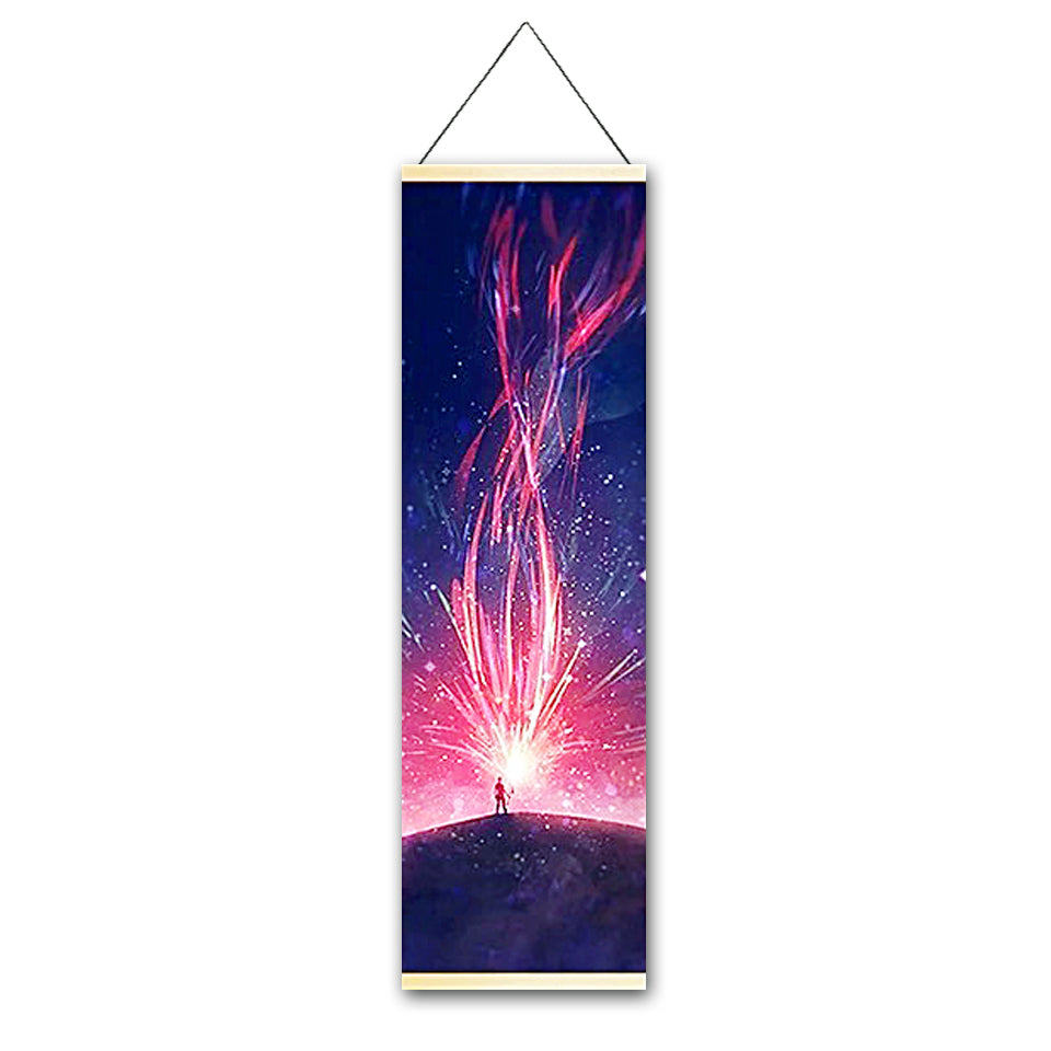 Harness Energy Canvas Hanging Scroll