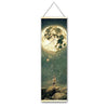 Moon Fishing Hanging Scroll - Gleamworks