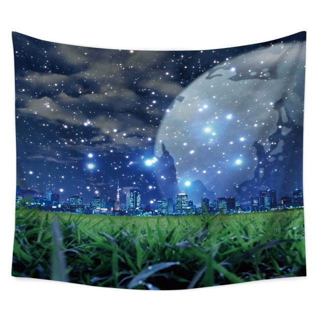 Starry Night Tapestry - Gleamworks
